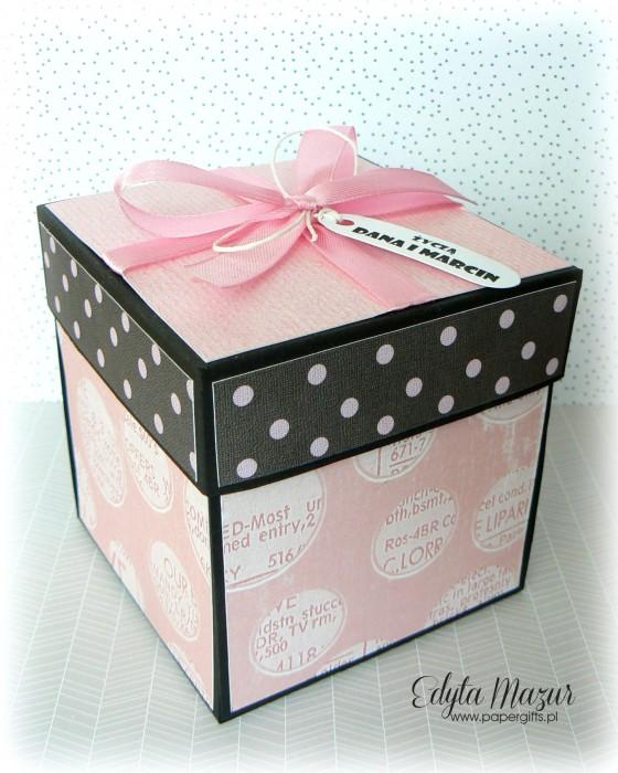 Babski wieczór - box na urodziny Justyny