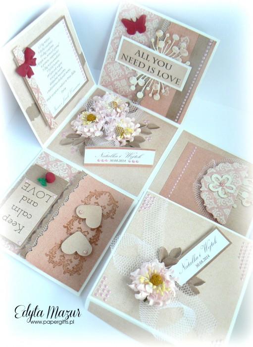 Box ślubny - Magiczne chwile z różami dla Natalii i Wojtka1