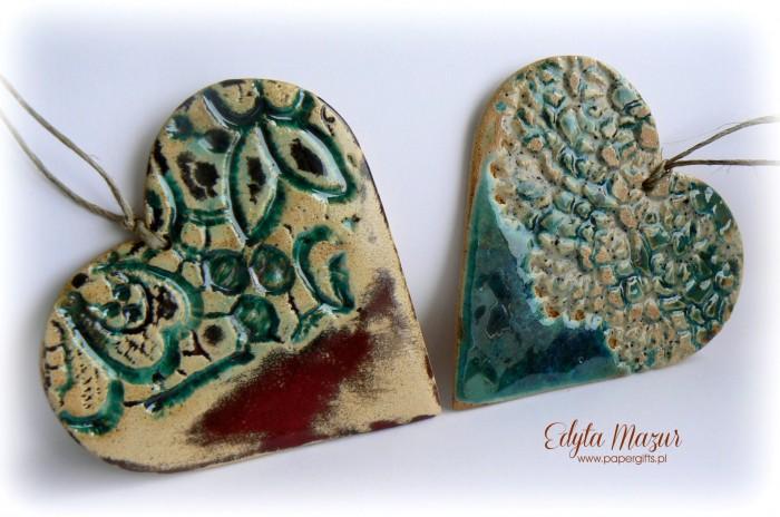 Morskie serca z ceramiki1