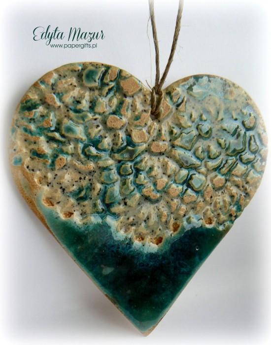 Morskie serce z ceramiki1