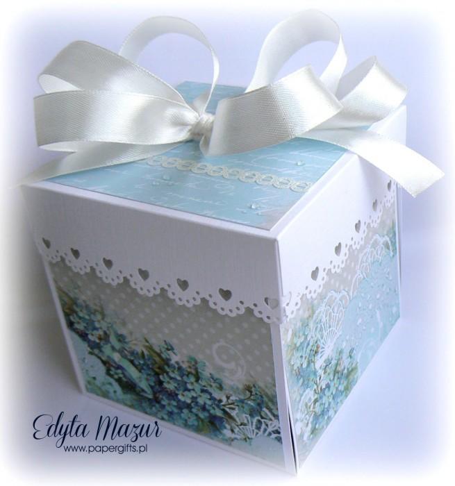 Niezapominajki - box ślubny