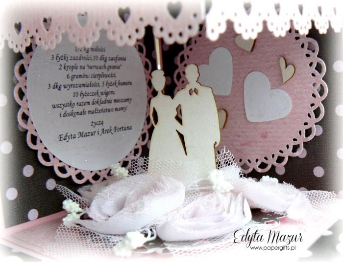 Różowy box ślubny1