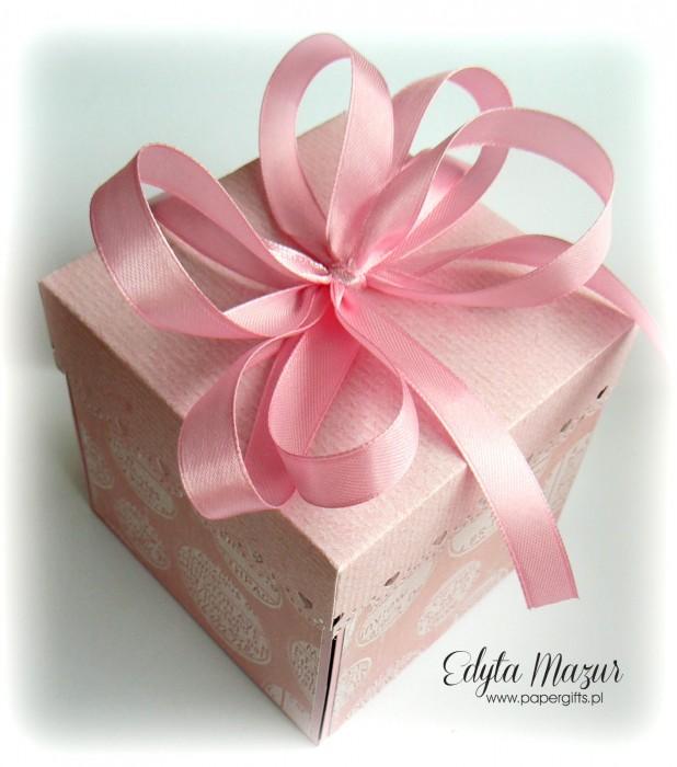 Różowy box ślubny2