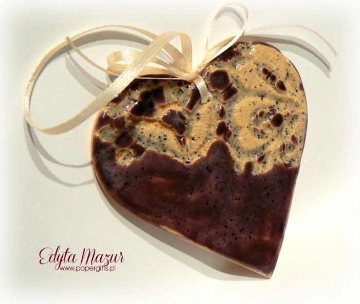 Fioletowe serce z dedykacją1