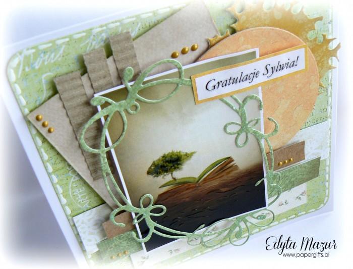 Książka i drzewo - gratulacje1