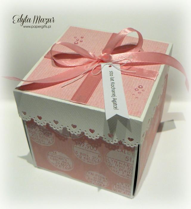 Babski wieczór z tortem - box na urodziny Agaty