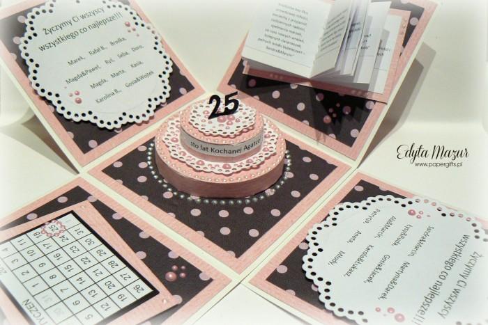 Babski wieczór z tortem - box na urodziny Agaty1