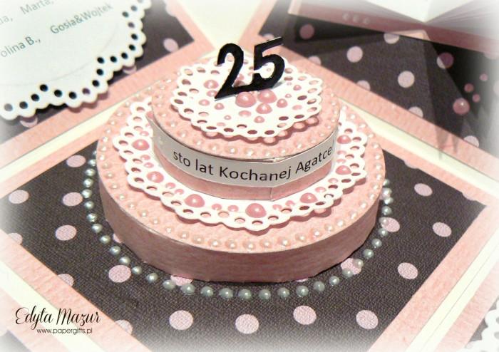 Babski wieczór z tortem - box na urodziny Agaty2