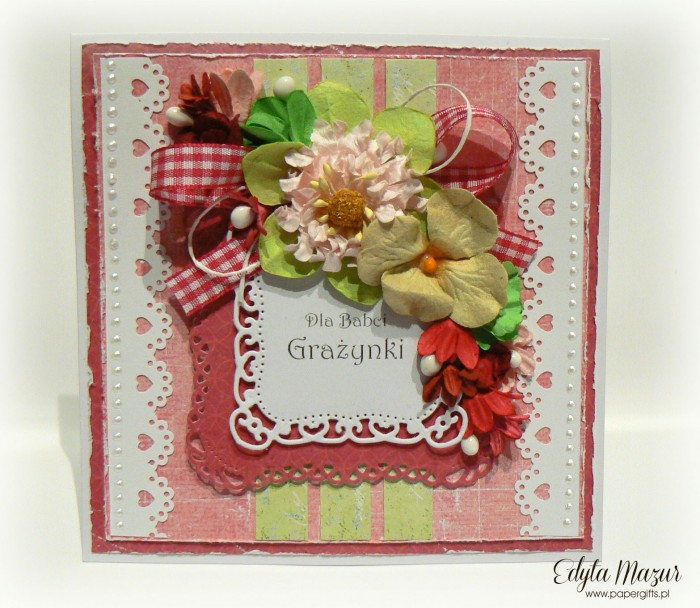 Różowo-zielona - Dla Babci Grażynki2