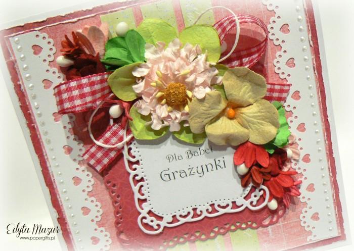 Różowo-zielona - Dla Babci Grażynki3