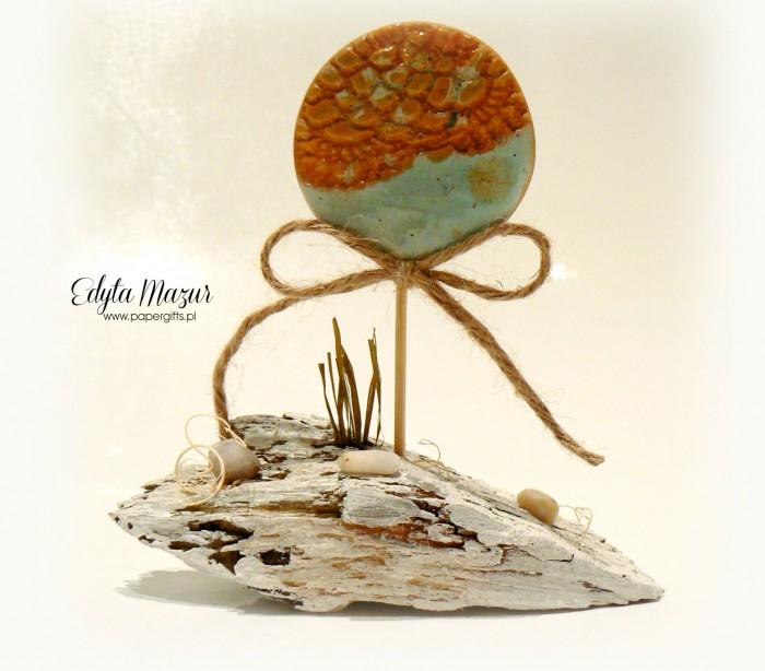 Seria Ceramika na pniu - Morskie oko
