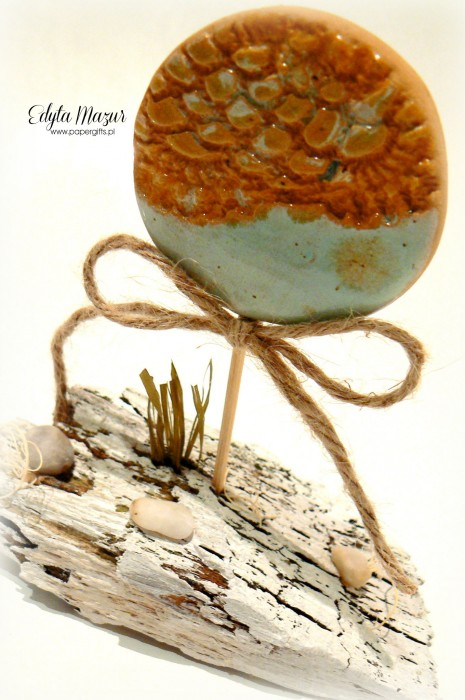 Seria Ceramika na pniu - Morskie oko1