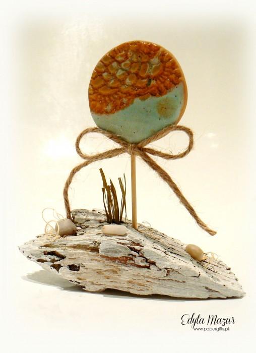 Seria Ceramika na pniu - Morskie oko3