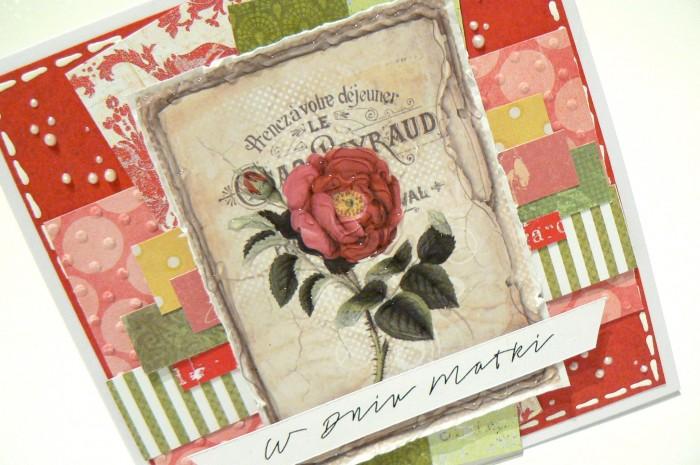 Czerwono-zielona kartka dla Mamy