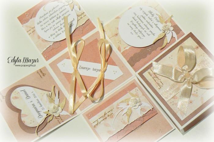 Magiczny box ślubny z sercem dla Dagmary i Daniela