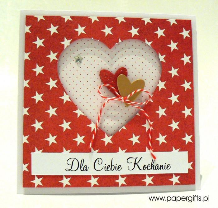 Gwiazki i serca - Walentynka