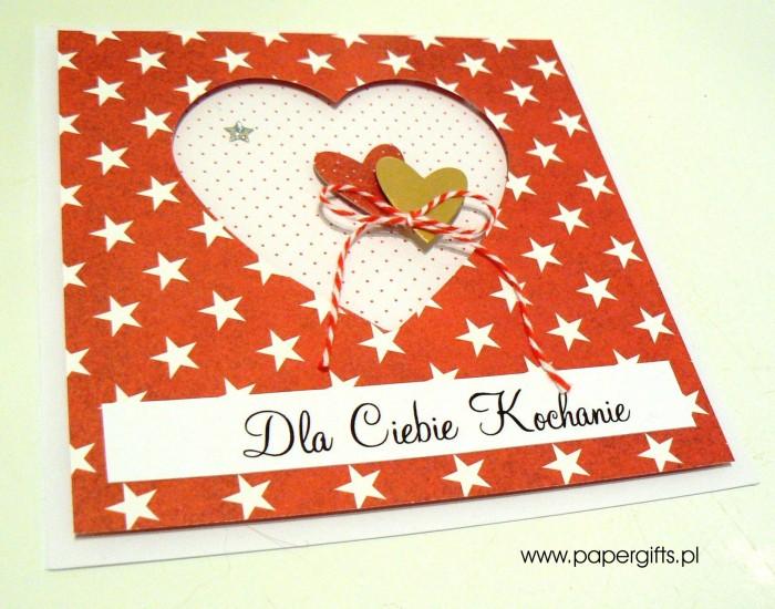 Gwiazki i serca - Walentynka1