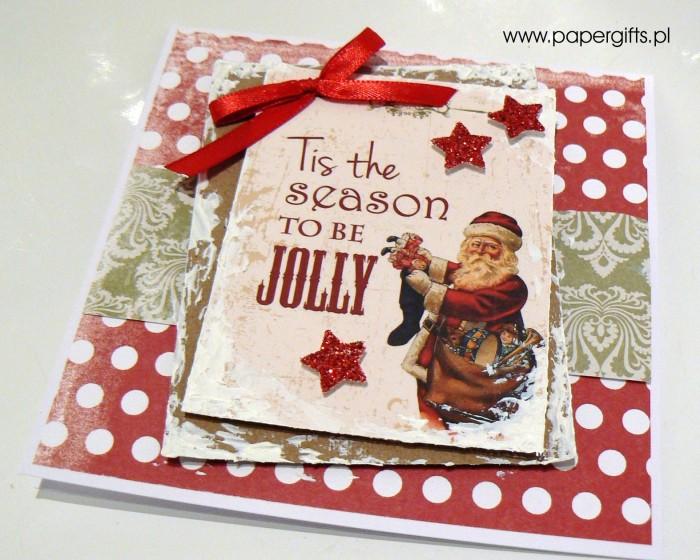 Kartka bożonarodzeniowa - wzór 3a