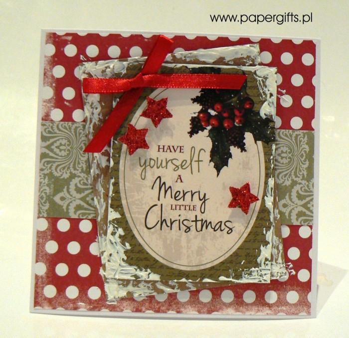 Kartka bożonarodzeniowa - wzór 5
