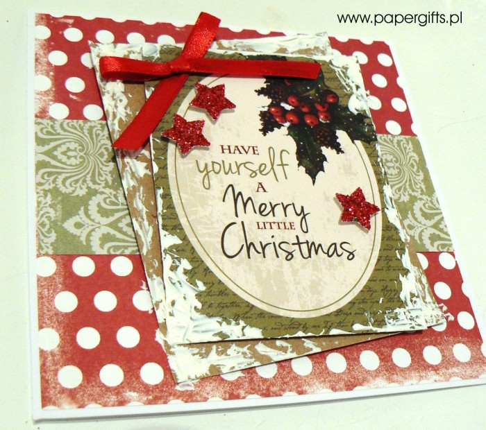Kartka bożonarodzeniowa - wzór 5a
