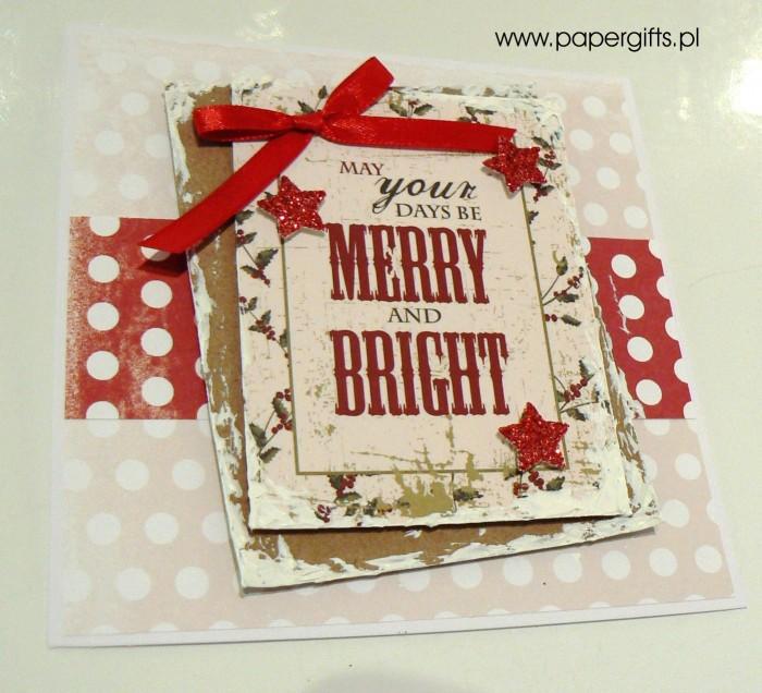 Kartka bożonarodzeniowa - wzór 7a