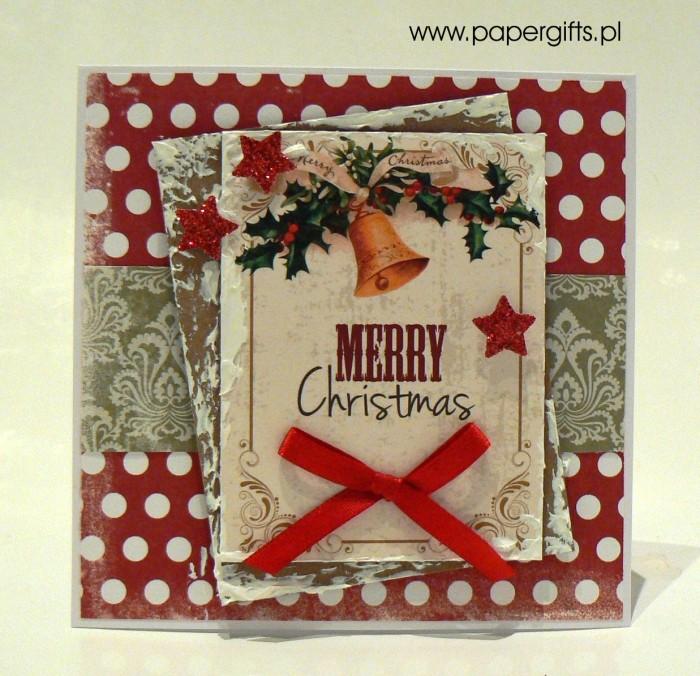 Kartka bożonarodzeniowa - wzór 8