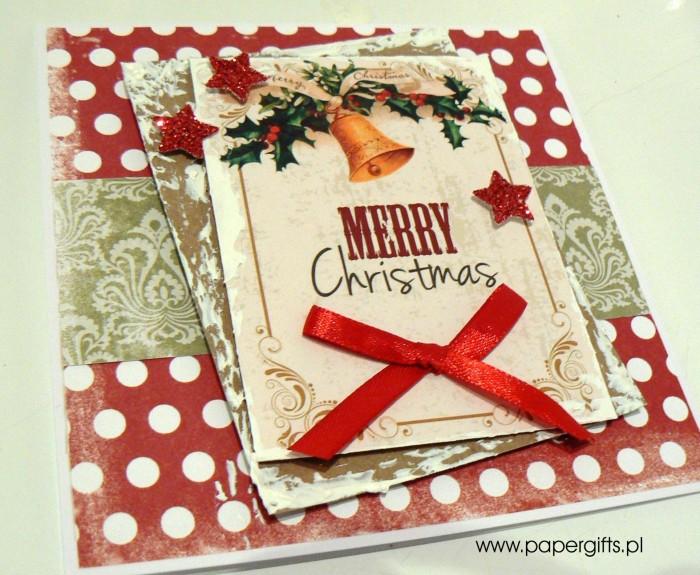 Kartka bożonarodzeniowa - wzór 8a