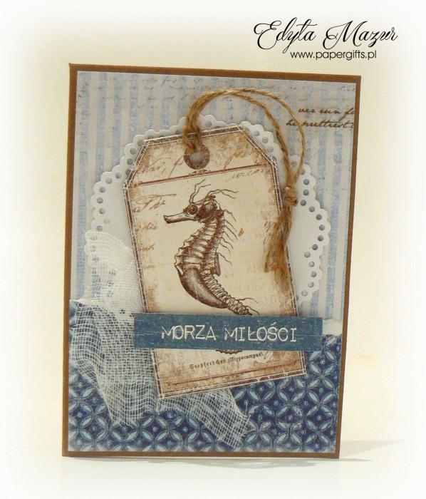 Morska kartka okolicznościowa - Morza miłości