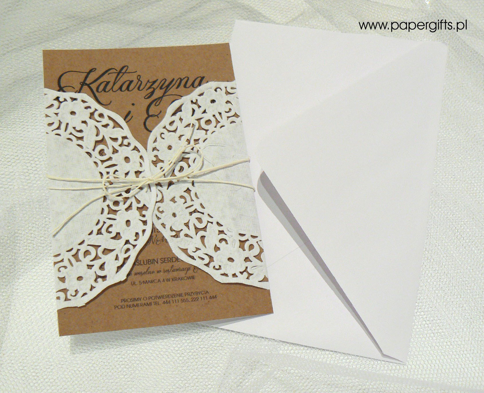 Zaproszenie Papergiftspl
