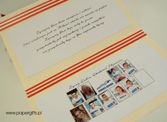 Morska kartka ślubna dla Oli i Roberta2