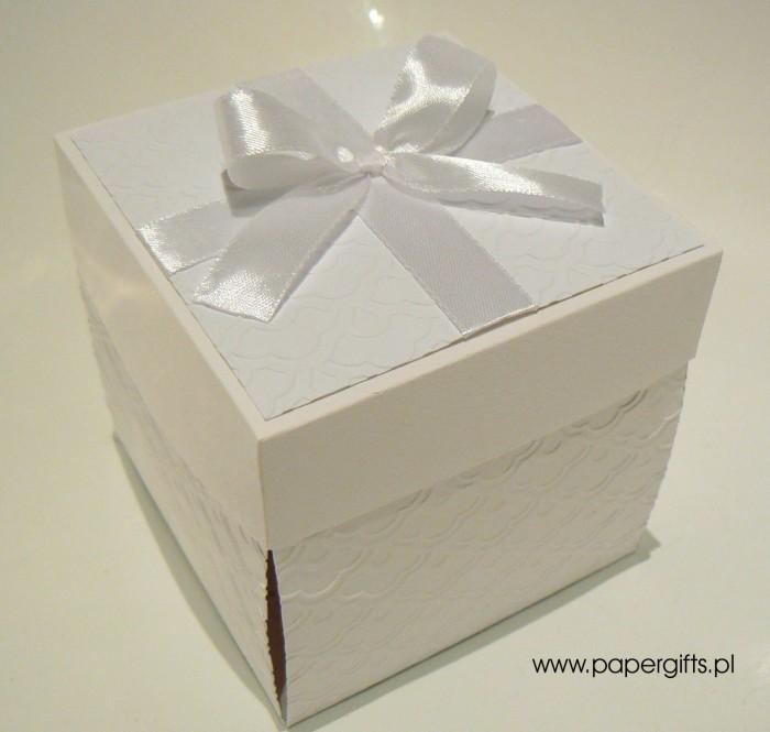 Biały box - Pamiątka chrztu
