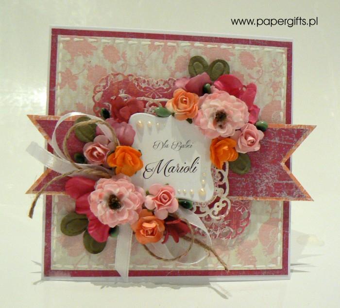 Kolorowy bukiet - Dla Babci Marioli