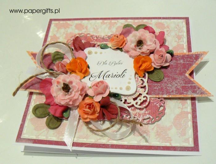 Kolorowy bukiet - Dla Babci Marioli1