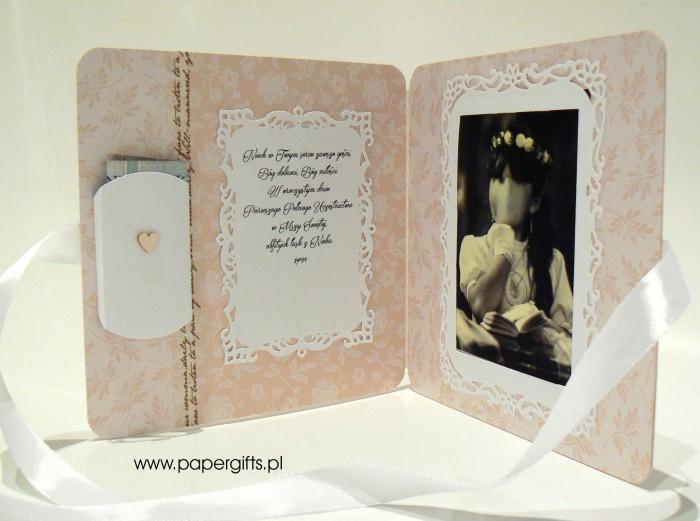 Złoty mini album - Pamiątka Komunii