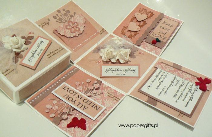 Box ślubny - Magiczne chwile z różami dla Magdaleny i Macieja1